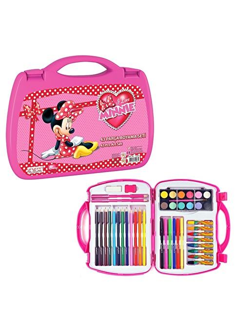 Disney Kız çocuk Boyama Seti Renkli Morhipo 4630024